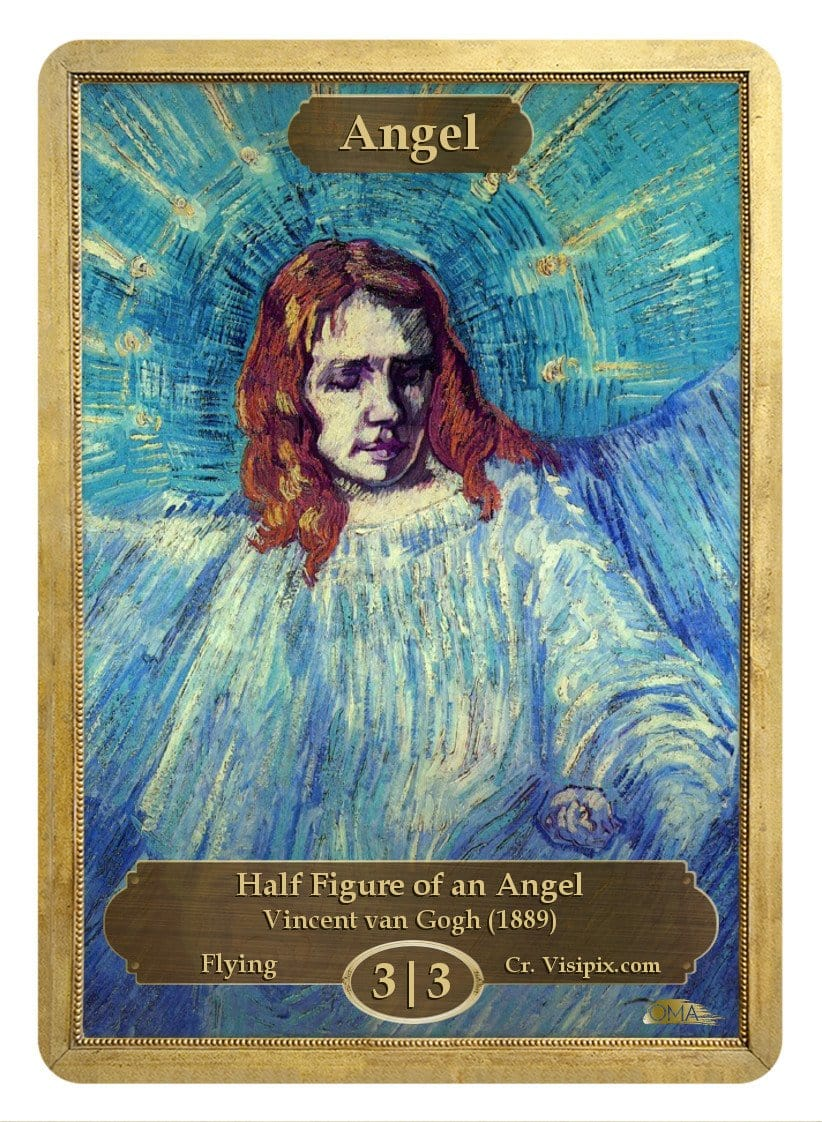 Angel Token (3/3) by Vincent van Gogh