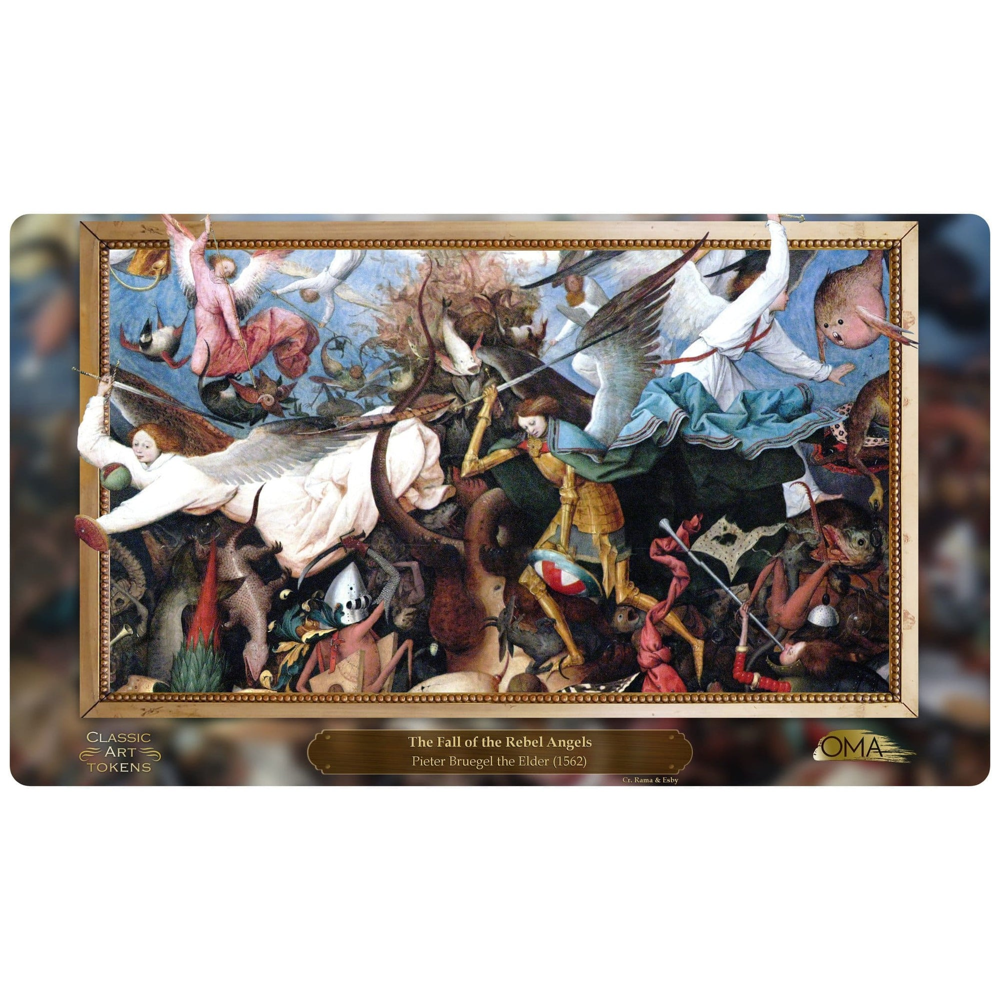 Angel Playmat by Pieter Bruegel the Elder