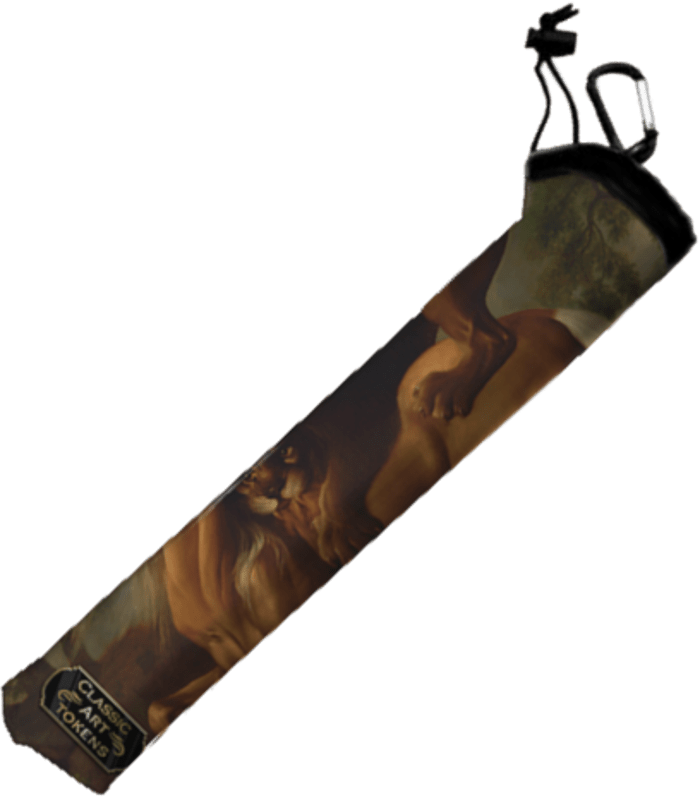 Carnivore Playmat Bag by George Stubbs