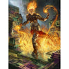 Chandra, Flamecaller Print - Print - Original Magic Art - Accessories for Magic the Gathering and other card games