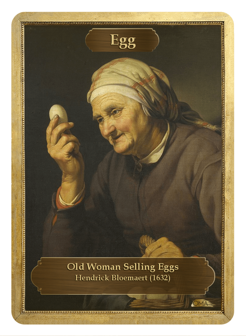 Egg Counter by Hendrick Bloemaert