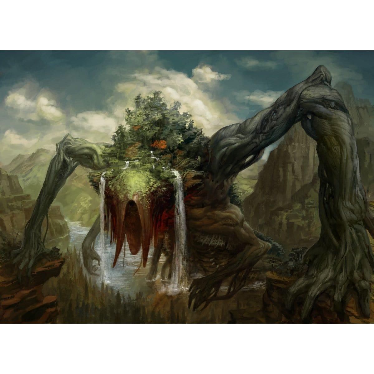 Animar, Soul of Elements Print