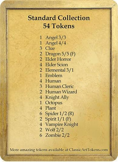 Standard Token Collection - Marble Edition