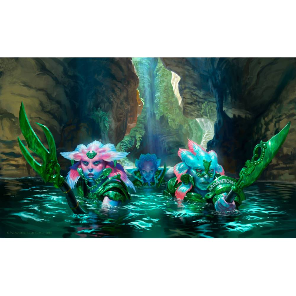Aquatic Incursion Print