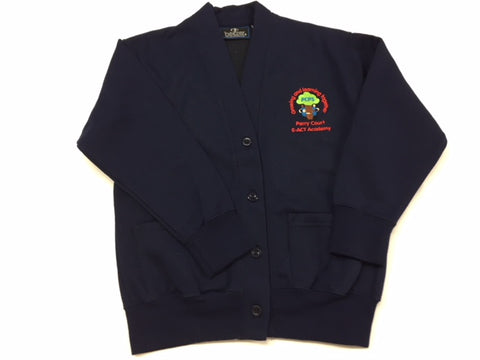 Navy Embroidered Cardigan (PCA)