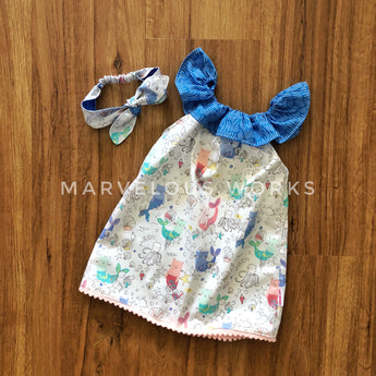 CUSTOM Baby Girl Blouse/Dress/Romper