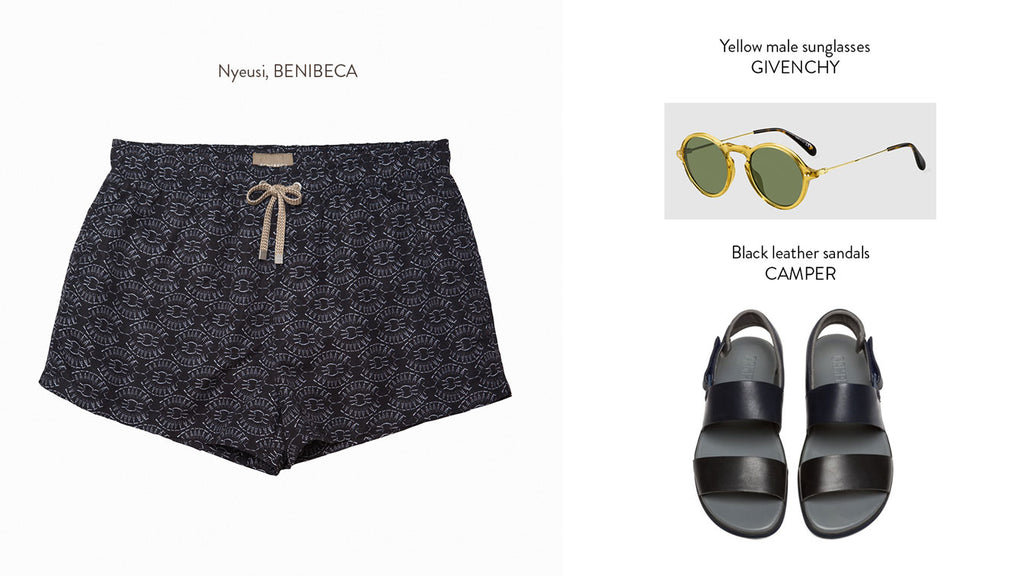 How to combine your Benibeca swimshorts at El Corte Inglés - Nyeusi