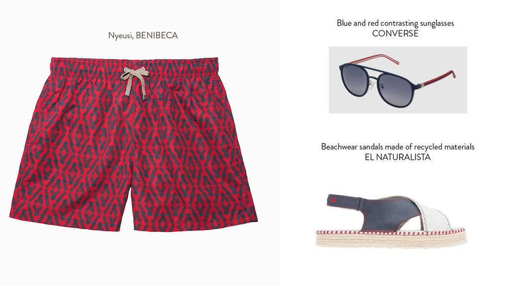 How to combine your Benibeca swimshorts at El Corte Inglés - Simba