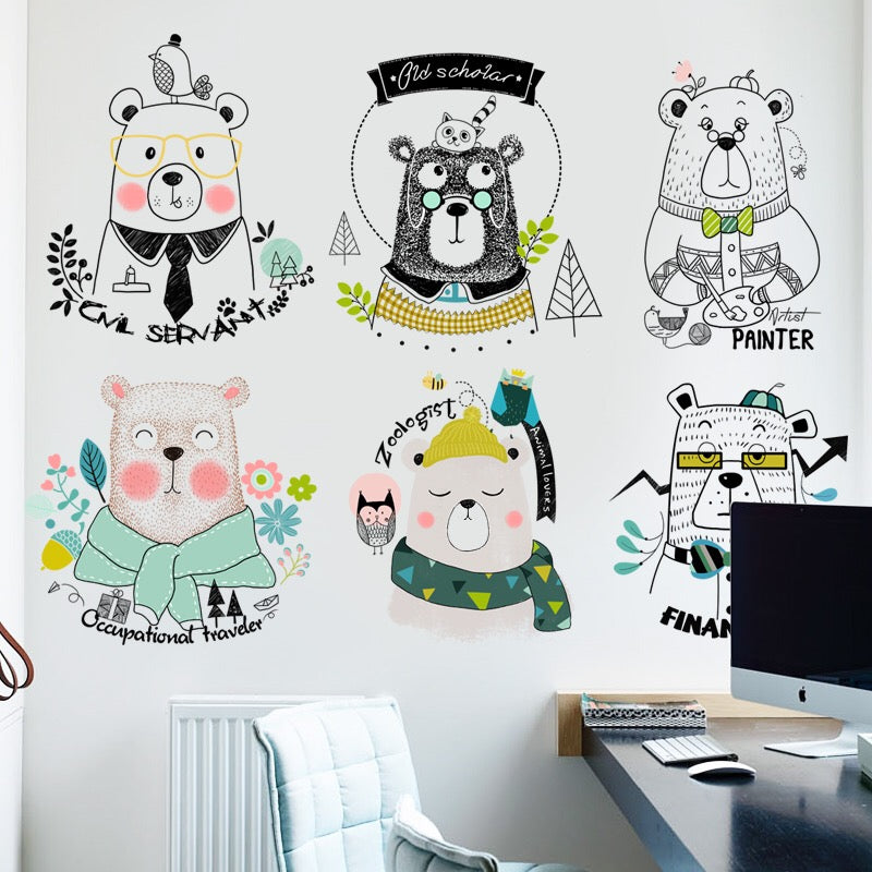 Bears Wall Decals