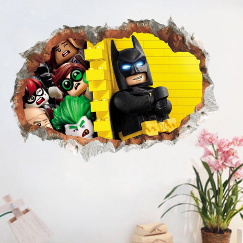 Lego Batman Wall Decals