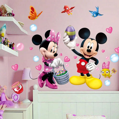Disney Mickey & Minnie Wall Stickers
