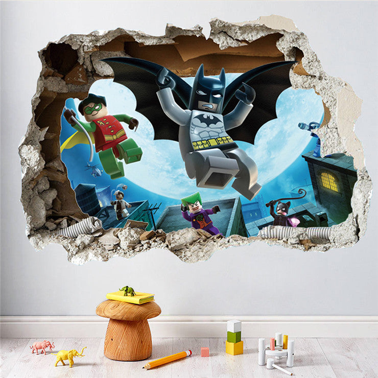 Lego Batman kids Wall Stickers