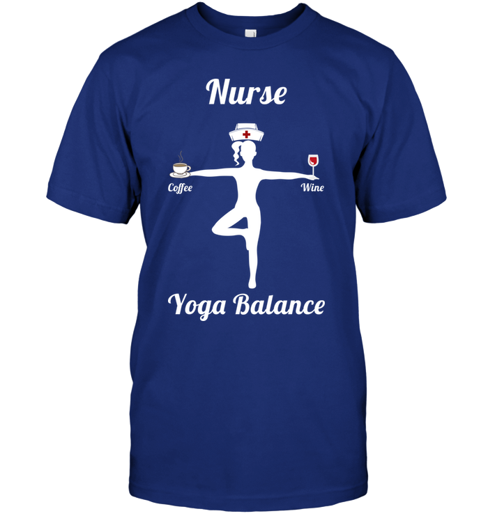 Nurse's Yoga Balance - Coffee + Wine