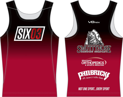 2016 SIX03 Team Running Singlet - **CLEARANCE**
