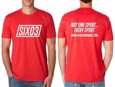 SIX03 Post Race Tee
