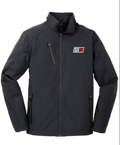 SIX03 Men's Welded Soft Shell Jacket- Battleship Grey