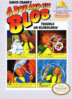 A Boy & His Blob - NES