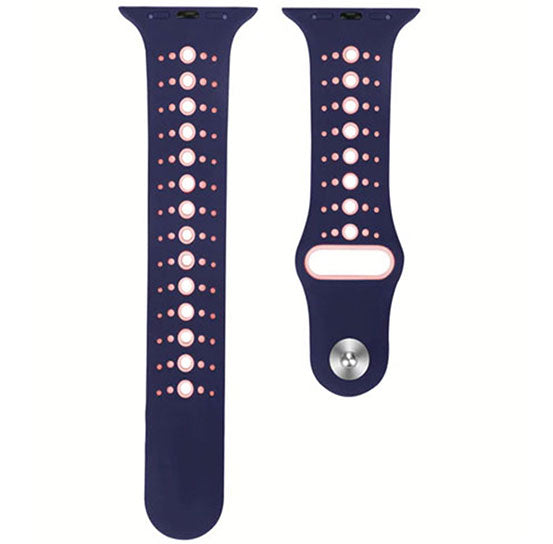 Sports Band for Apple Watch, Silicone Bracelet Replacement Strap