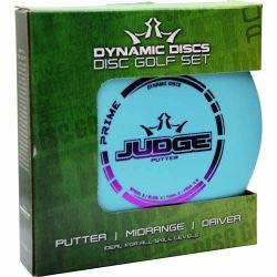 Dynamic Discs Prime Disc Golf Starter Set - Dynamic Discs Set - Disc 2 Basket Disc Golf Store