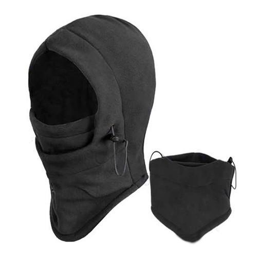 Thermal Fleece Balaclava Hood - Accessories - Disc 2 Basket Disc Golf Store