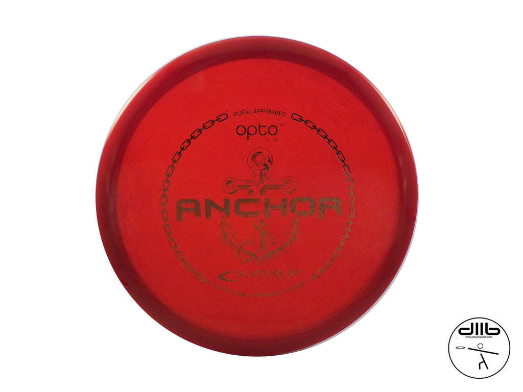 Latitude 64 Anchor Mid Range Driver - Latitude 64 Mid Range Drivers - Disc 2 Basket Disc Golf Store