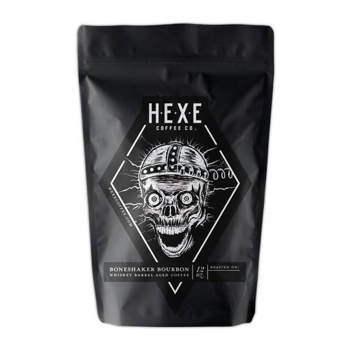 Boneshaker Bourbon Hexe Coffee Co. 12oz. bag 05-22-2018