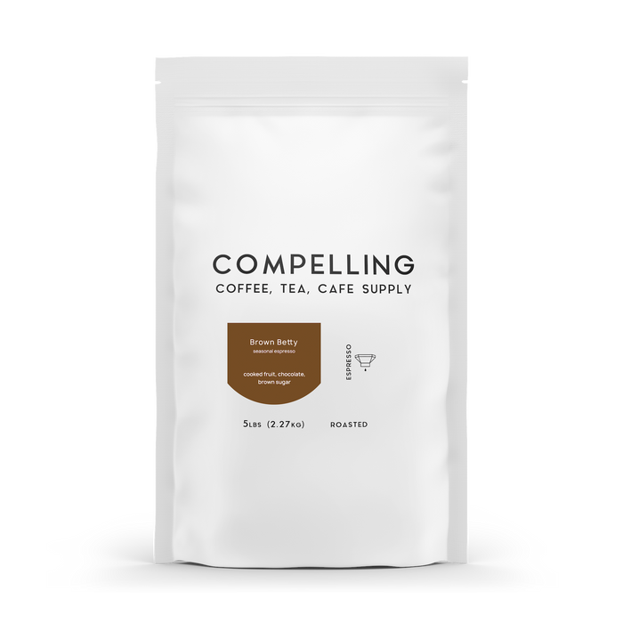 Brown Betty (5lb.) Compelling Coffee 12oz.