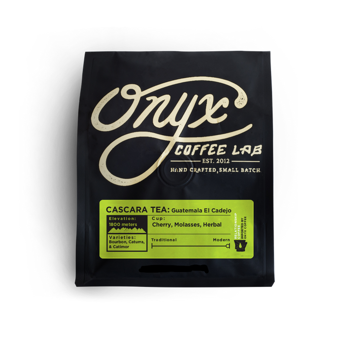 Cascara TEA - Guatemala El Cadejo Onyx Coffee Lab Coffee