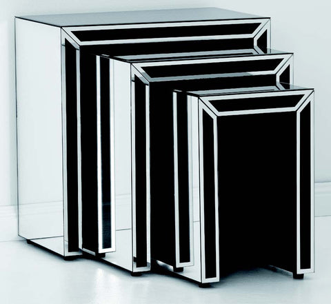 Dual Tone Side Tables