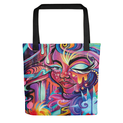 """New Paradise"" Artistic Tote bag"