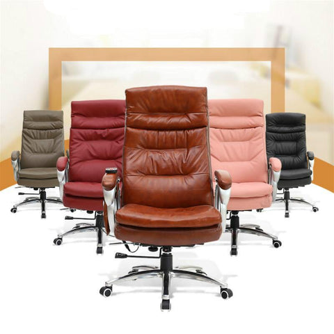 Simple Modern Fashion Boss Chair Leisure Adjustable Angle Lying Chair Office Furniture Computer Office Chair