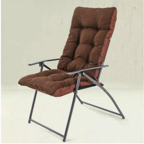Soft Comfortable Single Lazy Sofa Folding Chair Office Computer Chair Outdoor Leisure Chair Large Bearing Capacity Cadeira