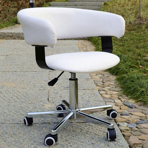Fashion Office Chair PU Leather Seat Gas Lift Swivel Chair