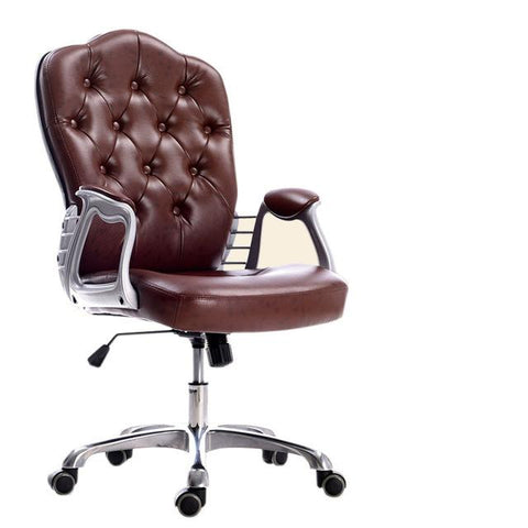 European PU Leather Office Chair Executive Lift Swivel Leisure Chair