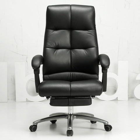 Soft comfortable office computer chair multifunctional household leisure chair human engineering chair leather chair