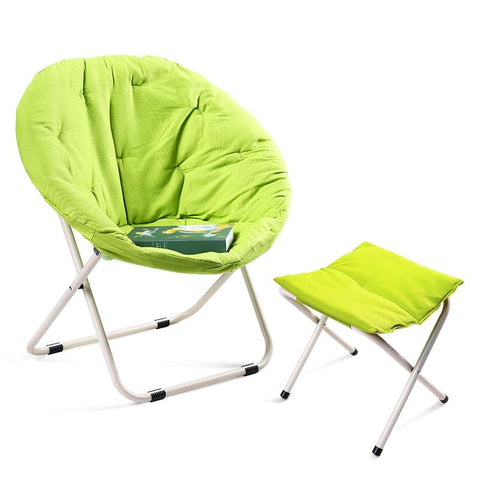 dormitory living room portable round balcony beach sofa indoor nap lazy leisure home furniture folding chair stool cadeira
