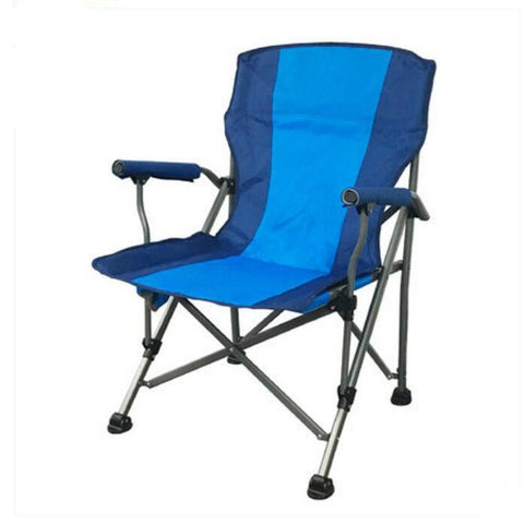 High Quality Outdoor Large Fishing Chair Portable Folding Chair Stool Leisure Beach Sketching Chair Oxford Cloth Iron cadeira