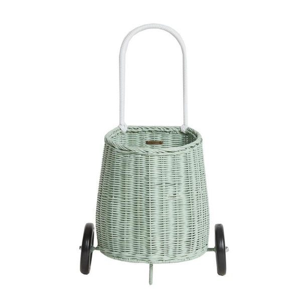 Olli Ella Children's Luggy Basket, Mint