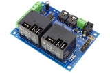 I2C Relay Controller 2-Channel 20-Amp SPDT 6 Programmable Digital Inputs/Outputs