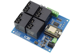Relay Shield for Particle Photon I2C 4-Channel 20-Amp SPDT 4 Programmable Digital Inputs/Outputs