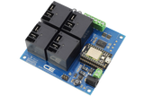 High-Power Relay Shield for Particle Photon I2C 4-Channel SPST 30-Amp with WiFi and USB Interface + 4 Programmable GPIO