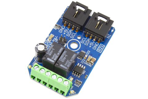 2-Channel Signal Relay 1A SPDT I2C Mini Module