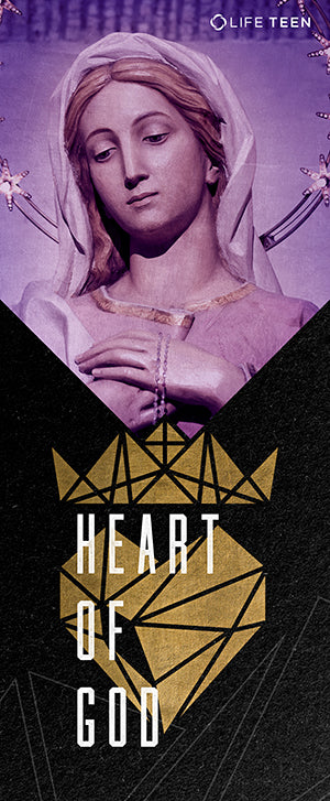 "Heart of God ""Mary"" Banner Digital Download"