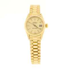 Ladies 18K Rolex Presidend Wristwatch