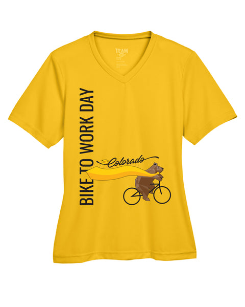 Athletic Gold Performance Tee - Ladies'