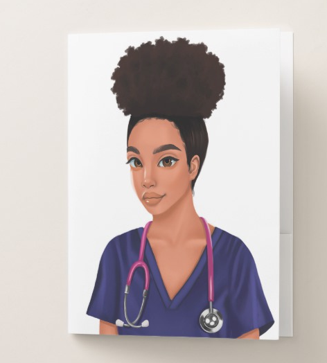 Nurse Pocket Folder