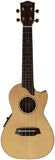 Makai Limited Solid Spruce/ Acacia with Pickup Cutaway Concert Ukulele LC-125K
