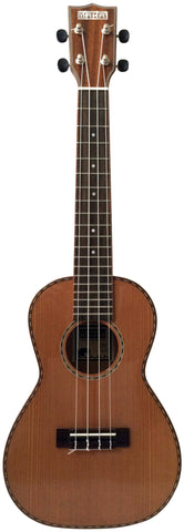 Makai Limited Solid Cedar Willow Concert Ukulele LC-80W