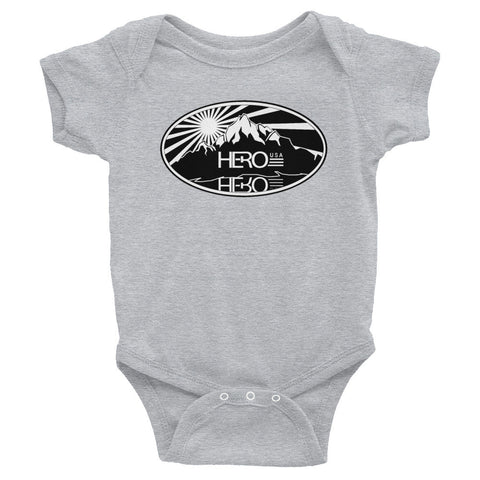Infant short sleeve one-piece - HERO USA