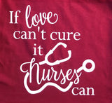 If love can't cure it nurses can - Ok Yankee Girl